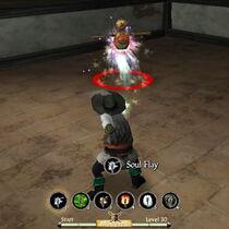 Staff soul flay