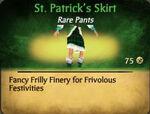 St. Patrick's Skirt