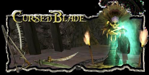 Title Cursed Blade
