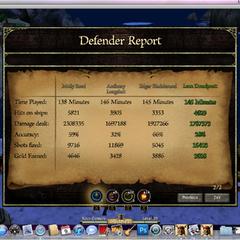 A good cannon defense game