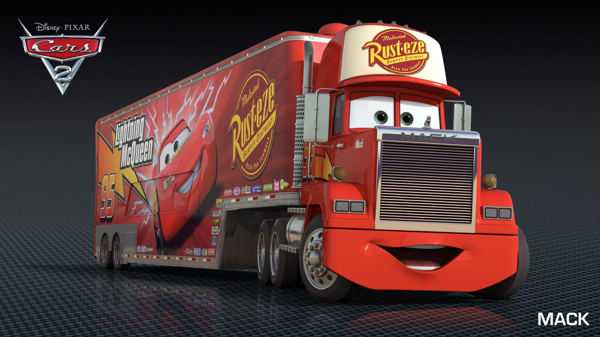 Mack pixar wiki fandom powered by wikia - Cars camion mack ...