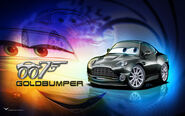 Cars Goldbumper by danyboz