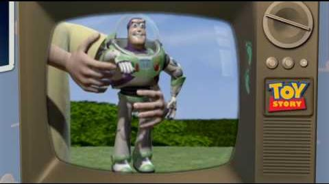 Buzz Lightyear commercial