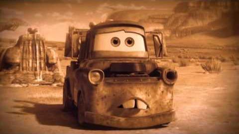 Travel Back in Time to the Start of Radiator Springs with Mater