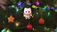 Angel Kitty on tree