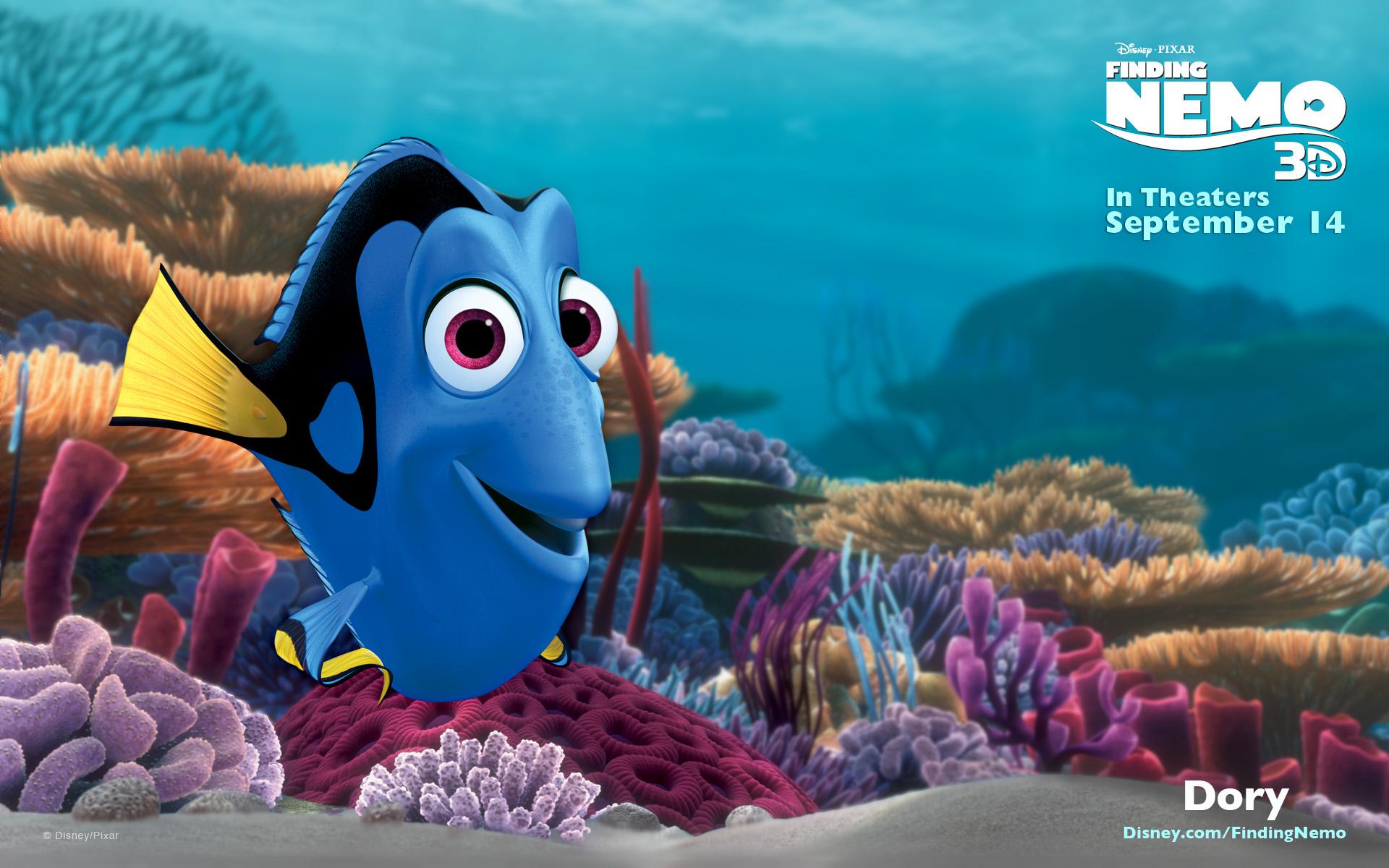 Dory pixar wiki fandom powered by wikia for Dory fish movie