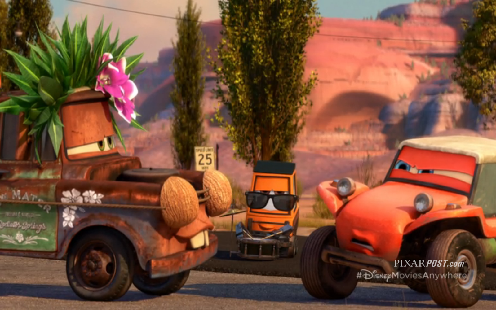 Cars Toons Radiator Springs    Full Movie