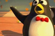 Wheezy (in bloopers