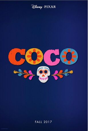 Coco Poster D23 Expo 2015