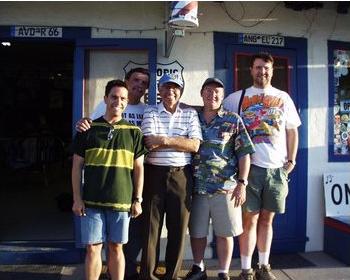 File:Joe and crew at Route 66 Barbershop .png