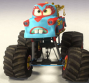 Mater monster truck mater new paint job