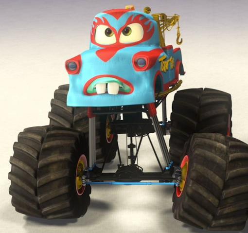 File:Mater monster truck mater new paint job.png