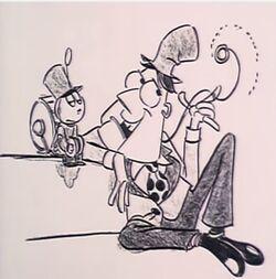 Tinny Ventriloquist Dummy