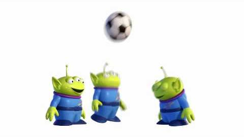 Toy Story 3 - Soccer Aliens