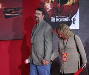 Joe Ranft at the event of Incredibles