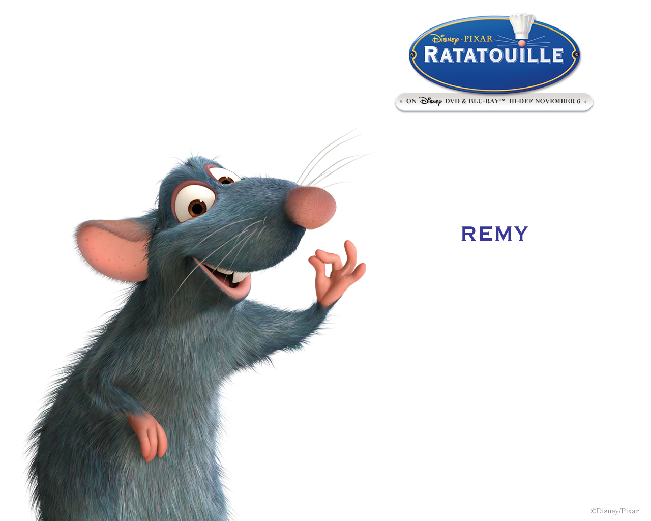 Ratatouille Remy Chef Performer Patton Oswalt