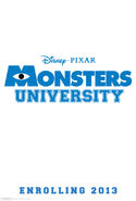 Monsters University-teaser poster