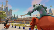 Disney Infinity Toy Box Combat 4