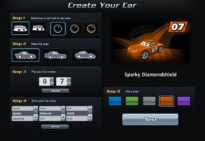 World of Cars-CreateACar