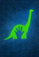 The Good Dinosaur Textless Poster