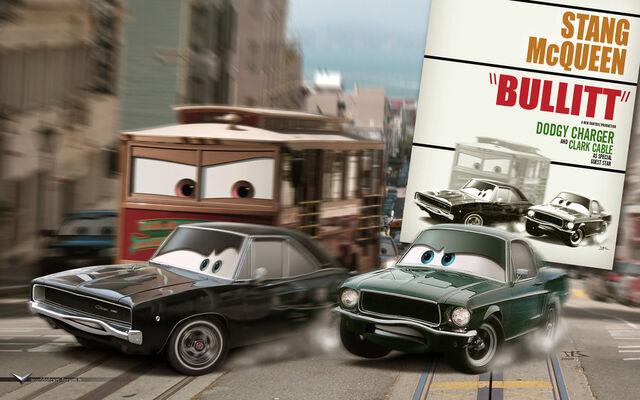 File:Cars Bullitt Poster by danyboz.jpg