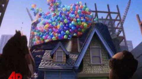 Sneak Peek Pixar's 'Up' on the Rise
