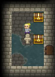 Prison stage Treasury