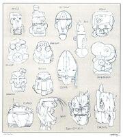 Early bionicle islander robots2.jpg