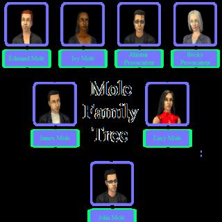 Drzewo genealogiczne rodziny Kret