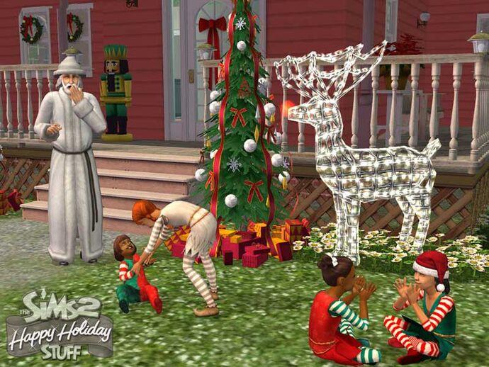 The Sims 2: Świąteczny zestaw