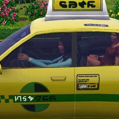 Taksówkarka w The Sims 3