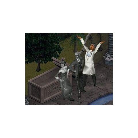 Taniec Glendy i Gordona przy trumnie.