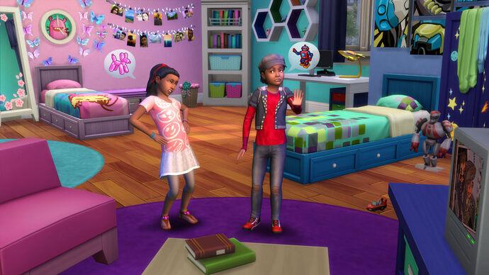 The Sims 4: Pokój Dzieciaków