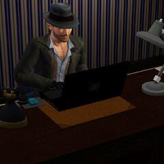 Detektyw szukający spraw