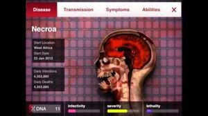Adverse Reactions (Plague Inc, Necroa Virus