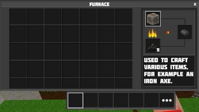 Smelting iron ore