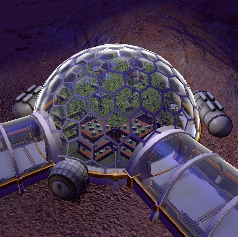 Bio Dome Planetbase Wikia Fandom Powered By Wikia