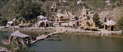 Ape City in Planet of the Apes
