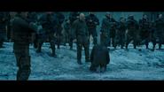 WPOTA Caesar kneels before the Colonel