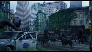 Apes march into San Francisco