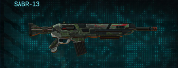 Amerish scrub assault rifle sabr-13