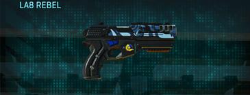Nc alpha squad pistol la8 rebel
