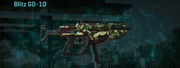 African forest smg blitz gd-10