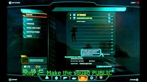 Planetside 2 Step by Step guite for platoon making-1