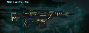 African forest assault rifle nc1 gauss rifle
