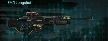 African forest sniper rifle em4 longshot