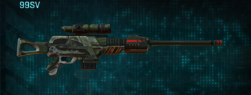 Amerish scrub sniper rifle 99sv