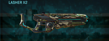Woodland heavy gun lasher x2
