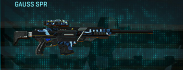 Nc alpha squad sniper rifle gauss spr