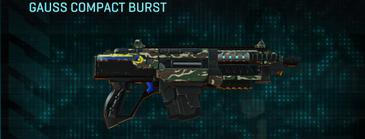 Scrub forest carbine gauss compact burst